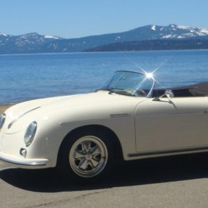 RW Speedster inspired by the classic 356 Speedster