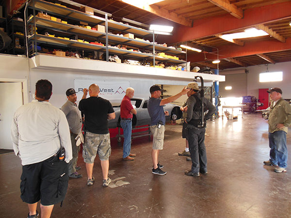 The Car Chasers Film Crew Discussing Shots