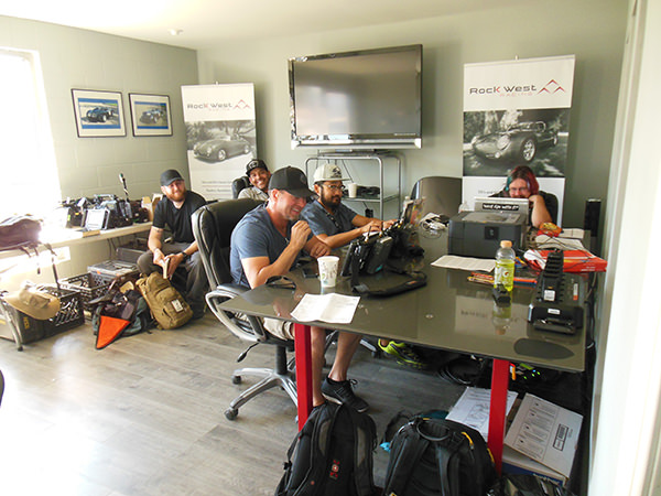 The Car Chasers Production Team Takes Over Our Conference Room