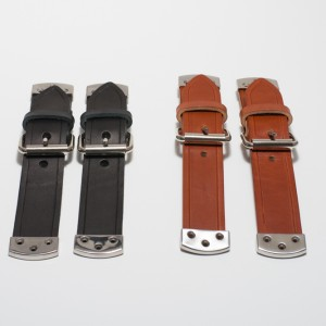 Hood Straps Black and Brown