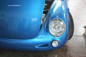 Blue RW Spyder - Detail Front