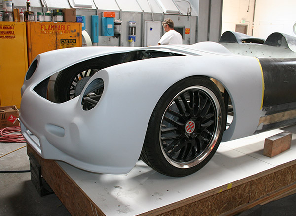 RW Spyder RS - Front Body (in process)