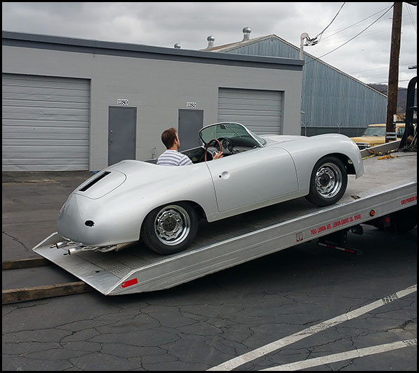 Body Repair Work - the Speedster is Off to the Customer