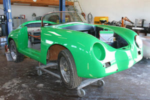 RW Speedster Electric - Before Trim