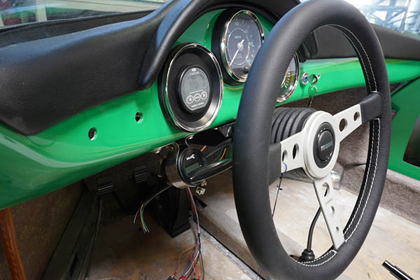 RW Speedster Electric - Steering and Gauges