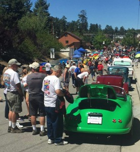 RW Speedster Electric - Big Crowds at the Big Bear Fun Run 2015
