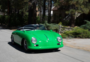 RW Speedster Electric - Cruising around the Lake (Big Bear Fun Run 2015)