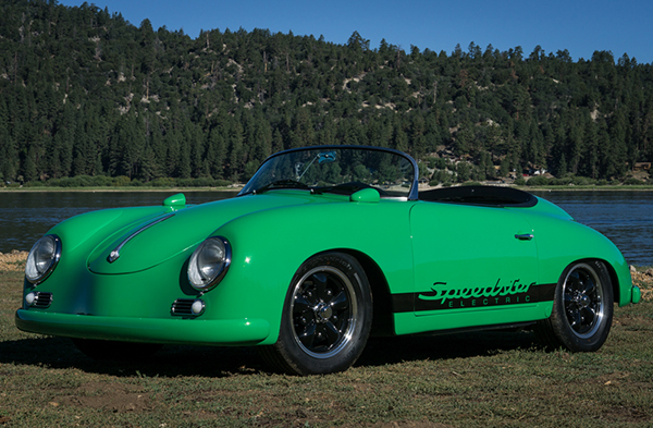 RW Speedster Electric - Glamour Shot by the Lake