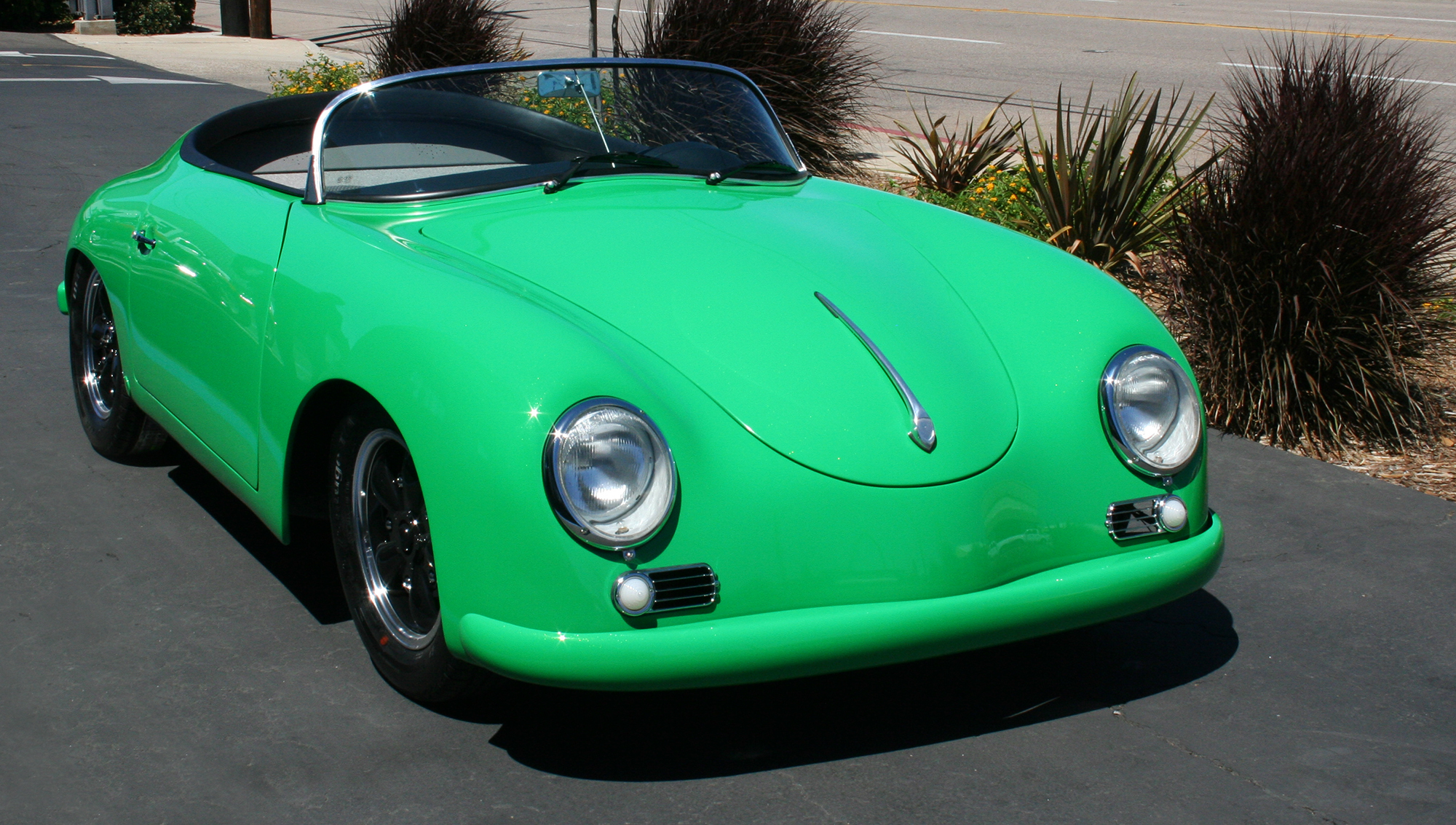 Green RW Speedster Electric