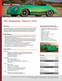 RWR Speedster Electric (0815) ICON