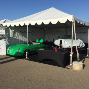 Coronado Speed Festival 2015 - Booth Setup