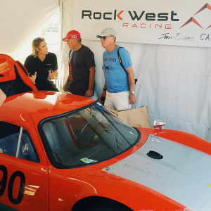Rennsport Reunion V Booth Activity