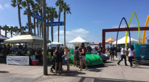 Endless Summer Classic Car Show - Busy Day
