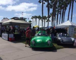 Endless Summer Classic Car Show - Corner Booth