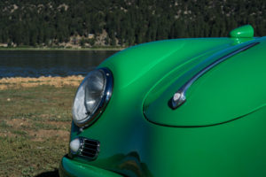 Big Bear Lake - Detail of Speedster Electric