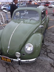 Pomona Swap Meet-Green VW Bug