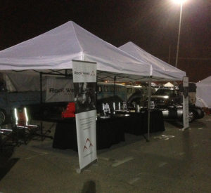 Pomona Swap Meet-booth setup