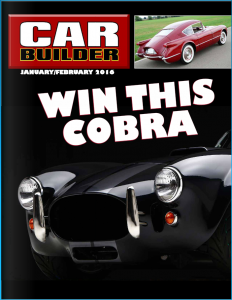 Car Builder Jan-Feb Issue Cover