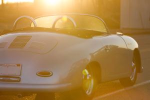 RW Speedster Driving into the Sunset