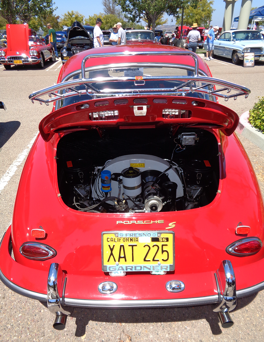 Original Red Speedster - Engine