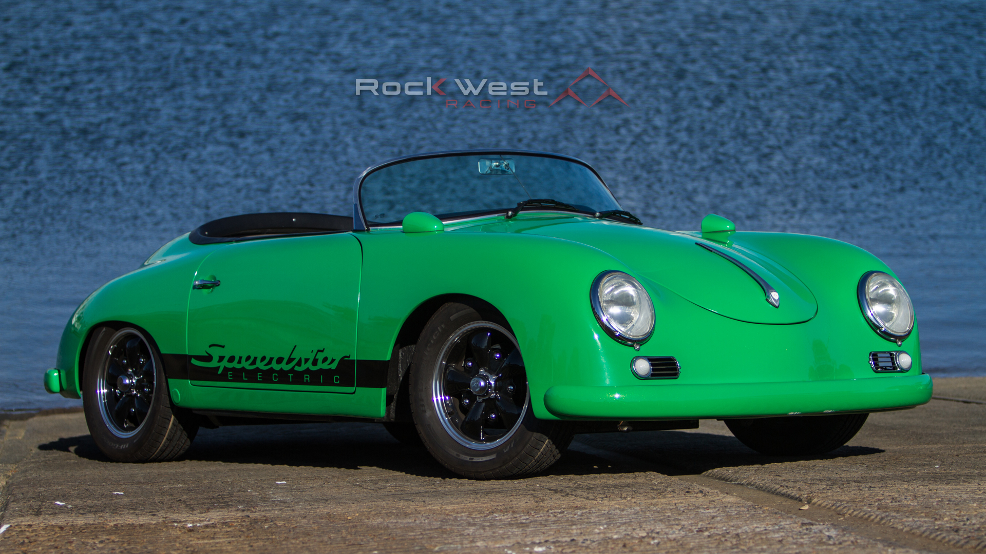 RW Speedster Electric - At the Waterfront (1920 x 1080 pixels)