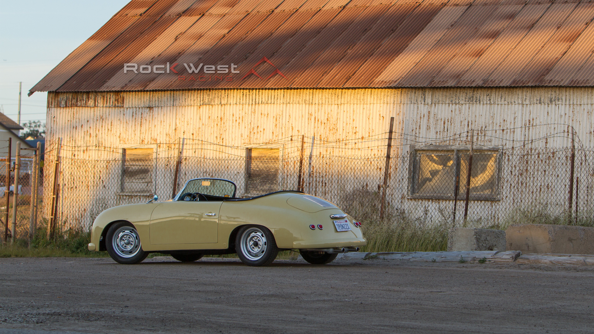 RW Speedster – By a Factory (1920 x 1080 pixels)