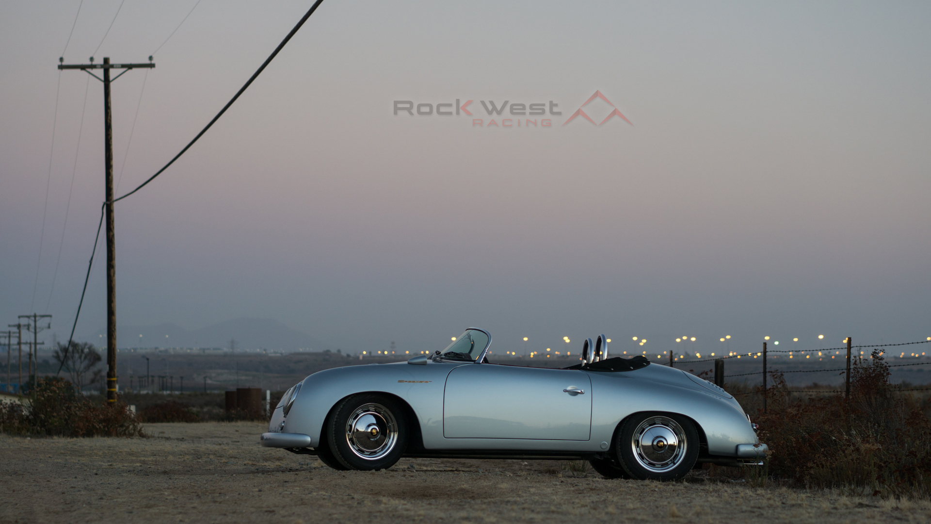 RW Speedster – Silver at Sunset (1920 x 1080 pixels)