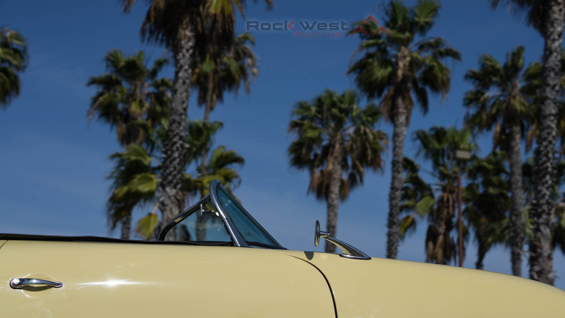 RW Speedster - Enjoying the Palm Trees (1920 x 1080 pixels)