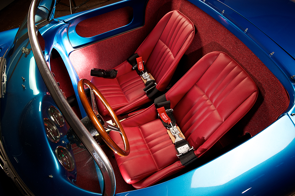 RW Spyder with Red Seats