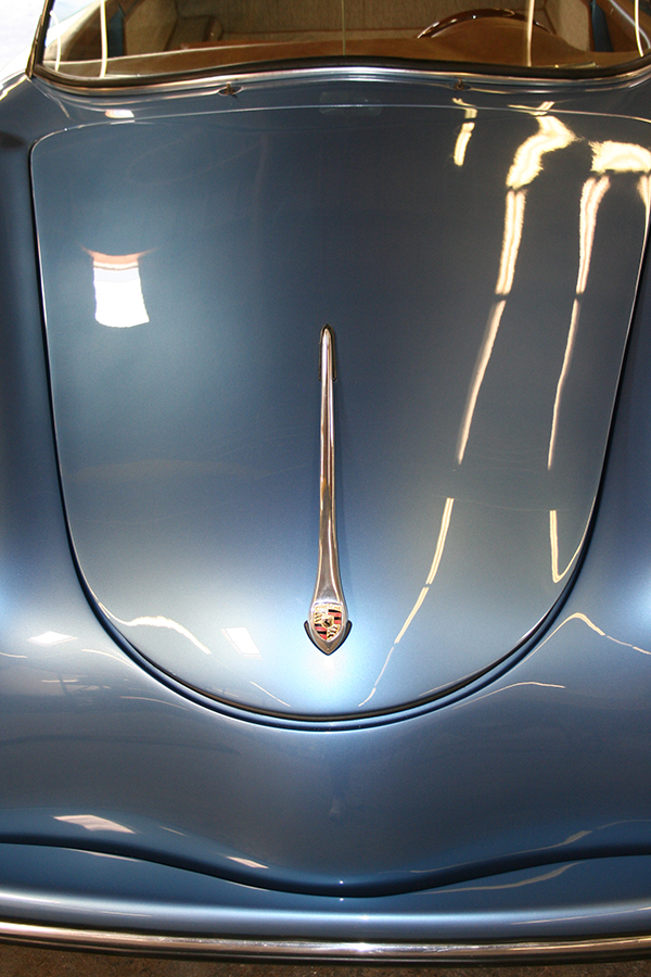Blue Speedster Hood