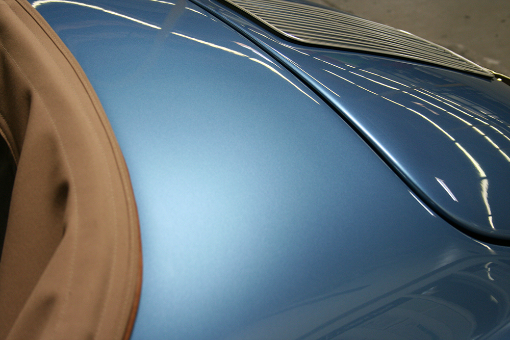 Blue RW Speedster - Detail by Top