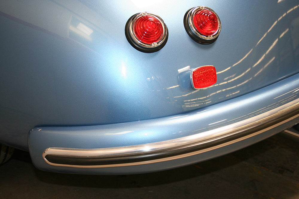 Blue RW Speedster - Tail Lights Detail