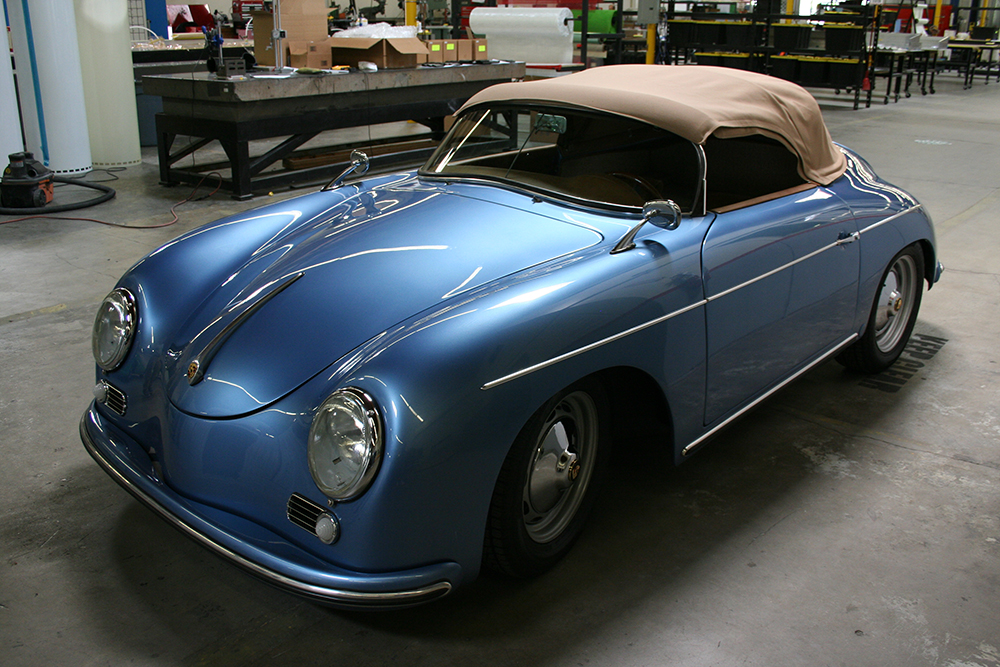 Blue RW Speedster - Top Up